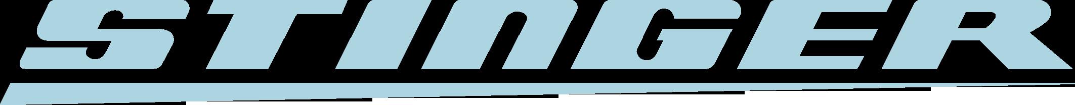 Stinger logo blauw