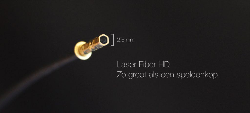 Laser-fiber-stinger